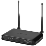 The Edimax BR-6428HPn router with 300mbps WiFi, 4 100mbps ETH-ports and                                              0 USB-ports