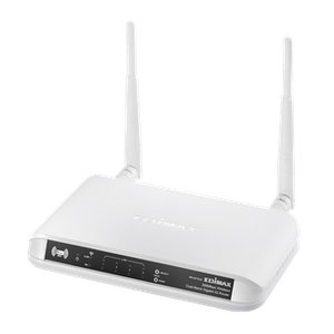 Thumbnail for the Edimax BR-6475nD router with 300mbps WiFi, 4 Gigabit ETH-ports and                                          0 USB-ports
