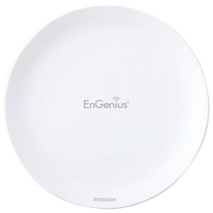 Thumbnail for the EnGenius EnStationACv2 router with Gigabit WiFi, 2 Gigabit ETH-ports and                                          0 USB-ports
