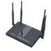 The Flyingvoice FWR9502 router has Gigabit WiFi, 4 Gigabit ETH-ports and 0 USB-ports. It has a total combined WiFi throughput of 2300 Mpbs.