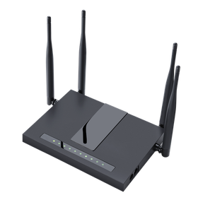 Thumbnail for the Flyingvoice FWR9502 router with Gigabit WiFi, 4 Gigabit ETH-ports and                                          0 USB-ports