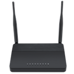 The Flyingvoice FWR9601 router with Gigabit WiFi, 4 Gigabit ETH-ports and                                                  0 USB-ports
