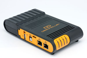 Thumbnail for the GlobalScale DreamPlug V9R1 router with 54mbps WiFi, 1 Gigabit ETH-ports and                                          0 USB-ports