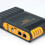 The GlobalScale DreamPlug V9R1 router with 54mbps WiFi, 1 Gigabit ETH-ports and                                                  0 USB-ports