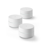 The Google Wifi (AC-1304) router with Gigabit WiFi, 1 Gigabit ETH-ports and                                              0 USB-ports
