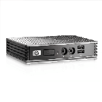 The HP t5325 router with No WiFi, 1 100mbps ETH-ports and                                              0 USB-ports