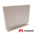 The Huawei HG256s router with 300mbps WiFi, 4 Gigabit ETH-ports and                                                  0 USB-ports