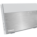 The Humax Quantum T9x router with Gigabit WiFi, 4 Gigabit ETH-ports and                                                  0 USB-ports