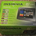 The Insignia Infocast NS-DP8CH router with 54mbps WiFi,  N/A ETH-ports and                                                  0 USB-ports