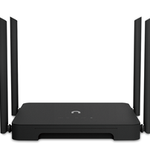 The Lenovo Newifi 3 router with Gigabit WiFi, 4 Gigabit ETH-ports and                                                  0 USB-ports