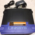 The Linksys BEFSX41 v2.1 router with Gigabit WiFi, 4 100mbps ETH-ports and                                              0 USB-ports