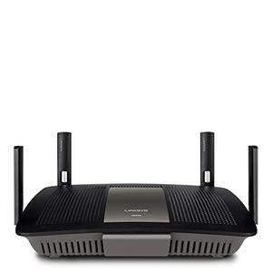 Thumbnail for the Linksys E8350 router with Gigabit WiFi, 4 Gigabit ETH-ports and                                          0 USB-ports