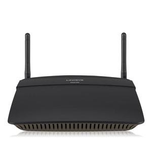 Thumbnail for the Linksys EA2750 router with 300mbps WiFi, 4 Gigabit ETH-ports and                                          0 USB-ports
