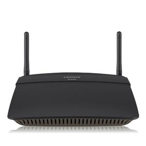 Thumbnail for the Linksys EA6100 router with Gigabit WiFi, 4 100mbps ETH-ports and                                          0 USB-ports