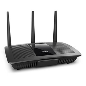 Thumbnail for the Linksys EA7300 v1 router with Gigabit WiFi, 4 N/A ETH-ports and                                          0 USB-ports