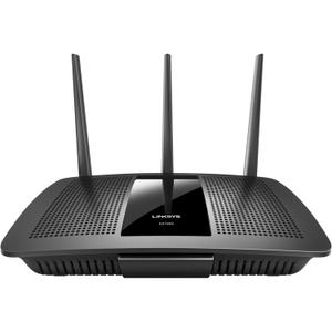 Thumbnail for the Linksys EA7300 router with Gigabit WiFi, 4 N/A ETH-ports and                                          0 USB-ports
