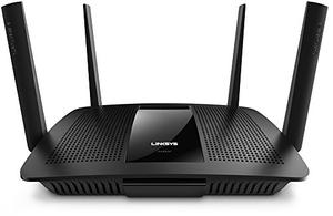 Thumbnail for the Linksys EA8500 router with Gigabit WiFi, 4 N/A ETH-ports and                                          0 USB-ports