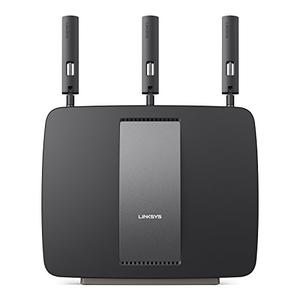 Thumbnail for the Linksys EA9200 router with Gigabit WiFi, 4 Gigabit ETH-ports and                                          0 USB-ports