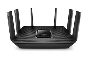 Thumbnail for the Linksys EA9300 router with Gigabit WiFi, 4 Gigabit ETH-ports and                                          0 USB-ports