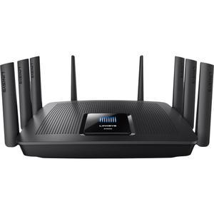 Thumbnail for the Linksys EA9400 v1 router with Gigabit WiFi, 8 Gigabit ETH-ports and                                          0 USB-ports