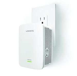 Thumbnail for the Linksys RE7000 router with Gigabit WiFi, 1 Gigabit ETH-ports and                                          0 USB-ports