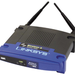 The Linksys WAP54GP router has 54mbps WiFi, 1 100mbps ETH-ports and 0 USB-ports.