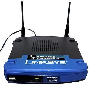 Thumbnail for the Linksys WET11 v2 router with 11mbps WiFi, 1 N/A ETH-ports and                                          0 USB-ports