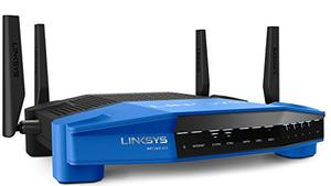 Thumbnail for the Linksys WRT1900ACS router with Gigabit WiFi, 4 Gigabit ETH-ports and                                          0 USB-ports