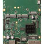 The MikroTik RouterBOARD M33 (RBM33G) router with No WiFi, 2 Gigabit ETH-ports and                                              0 USB-ports