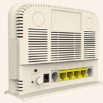 The MitraStar DSL-2401HN router with Gigabit WiFi, 4 100mbps ETH-ports and                                                  0 USB-ports