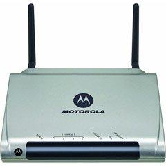 Thumbnail for the Motorola 2247-62 (2247-62-100T) router with 54mbps WiFi, 4 100mbps ETH-ports and                                          0 USB-ports