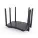 The Motorola MR1700 router has Gigabit WiFi, 4 Gigabit ETH-ports and 0 USB-ports. It has a total combined WiFi throughput of 1700 Mpbs.<br>It is also known as the <i>Motorola AC1700 WiFi Gigabit Router.</i>
