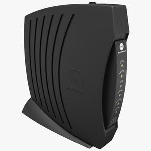 Thumbnail for the Motorola SURFboard SB5101 router with No WiFi, 1 100mbps ETH-ports and                                          0 USB-ports
