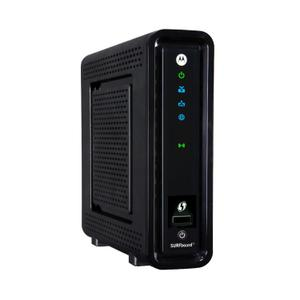 Thumbnail for the Motorola SURFboard SBG6580 router with 300mbps WiFi, 4 Gigabit ETH-ports and                                          0 USB-ports