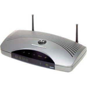 Thumbnail for the Motorola SURFboard SBG940 router with 54mbps WiFi, 4 100mbps ETH-ports and                                          0 USB-ports