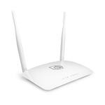 The NAG SNR-CPE-W4N (rev.M) router with 300mbps WiFi, 4 100mbps ETH-ports and                                              0 USB-ports