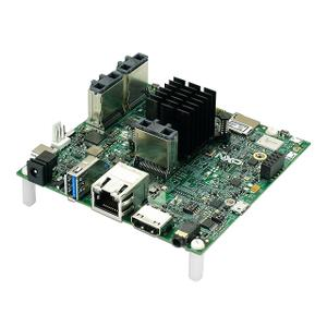 Thumbnail for the NXP MCIMX8M-EVK router with Gigabit WiFi, 1 Gigabit ETH-ports and                                          0 USB-ports