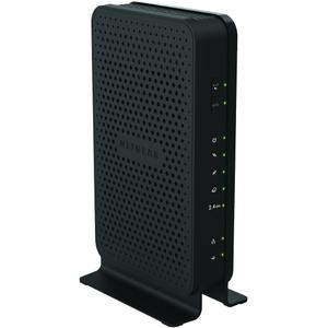 Thumbnail for the Netgear C3000v2 router with 300mbps WiFi, 2 Gigabit ETH-ports and                                          0 USB-ports