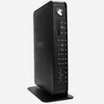 The Netgear CG3100Dv3 router with 300mbps WiFi, 4 Gigabit ETH-ports and                                              0 USB-ports