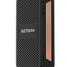 The Netgear CM1100 router has No WiFi, 2 Gigabit ETH-ports and 0 USB-ports.