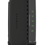 The Netgear CM400 router with No WiFi, 1 Gigabit ETH-ports and                                              0 USB-ports