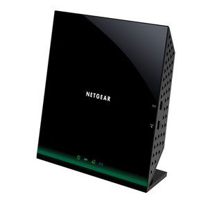 Thumbnail for the Netgear D6100 router with Gigabit WiFi, 2 N/A ETH-ports and                                          0 USB-ports