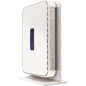 Thumbnail for the Netgear JNR3000 router with 300mbps WiFi, 4 Gigabit ETH-ports and                                          0 USB-ports
