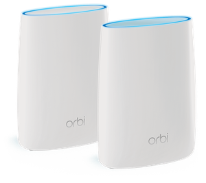 Thumbnail for the Netgear Orbi Router (RBR20) router with Gigabit WiFi, 1 Gigabit ETH-ports and                                          0 USB-ports