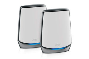 Thumbnail for the Netgear Orbi Router (RBR850) router with Gigabit WiFi, 4 N/A ETH-ports and                                          0 USB-ports