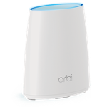 The Netgear Orbi Satellite (RBS40) router with Gigabit WiFi, 4 Gigabit ETH-ports and                                                  0 USB-ports