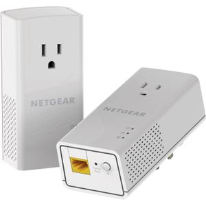 Thumbnail for the Netgear PLP1000 router with No WiFi, 1 Gigabit ETH-ports and                                          0 USB-ports