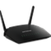 The Netgear R6230 router has Gigabit WiFi, 4 Gigabit ETH-ports and 0 USB-ports. It has a total combined WiFi throughput of 1200 Mpbs.