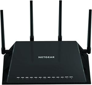 Thumbnail for the Netgear R7800 router with Gigabit WiFi, 4 N/A ETH-ports and                                          0 USB-ports