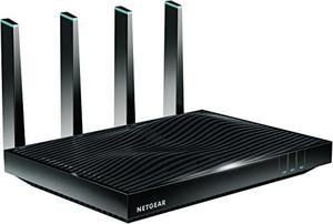 Thumbnail for the Netgear R8300 router with Gigabit WiFi, 6 Gigabit ETH-ports and                                          0 USB-ports